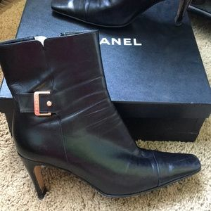 Authentic Chanel Boots